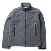 バックアイスプリングスジャケット PM3821 005 Boulder Heather Lサイズ [アウトドア フリース メンズ]
