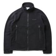 バックアイスプリングスジャケット PM3821 010 Black Lサイズ [アウトドア フリース メンズ]