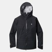 ドライピークジャケット Drypeak Jacket OE9709 090 Black Lサイズ [アウトドア レインジャケット メンズ]