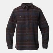 プラッシャーロングスリーブシャツ Plusher Long Sleeve Shirt OM9113 209 Dark Ash Sサイズ [アウトドア シャツ メンズ]