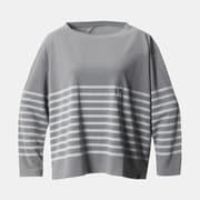 ハードウェアグラフィックL/ST W Hardwear Graphic Long Sleeve T OR9727 073 GREY Mサイズ [アウトドア カットソー レディース]