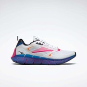 ジグ キネティカ ホライズン Zig Kinetica Horizon Shoes FW5300 ホワイト/ベクターブルー/プラウドピンク 25cm [ランニングシューズ ユニセックス]