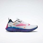 ジグ キネティカ ホライズン Zig Kinetica Horizon Shoes FW5300 ホワイト/ベクターブルー/プラウドピンク 27cm [ランニングシューズ ユニセックス]