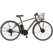 TB7B4Y 3P1A8R0 [電動アシスト自転車 TB1e(ティービーワンe) オプション付き 27型 外装7段変速 T.Xマットグレー]