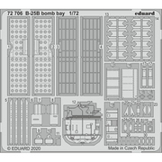 EDU72706 B-25B 爆弾槽 エッチングパーツ エアフィックス用 [1/72スケール エッチングパーツ]