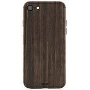IPHSE2-PLA-04 [Plain Cover for iPhone SE(第2世代) シールケース Ebony]