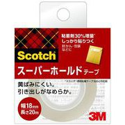 700-1-18C [Scotch(スコッチ) スーパーホールドテープ 小巻 幅18mm 詰め替え用]