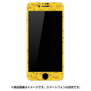 POKE-675C [iPhone SE(第2世代)/iPhone 8 用 ガラススクリーンプロテクター ポケットモンスター ピカチュウ 総柄]