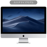 iMac 27インチ 5K 3.8GHz 8コア第10世代Intel Core i7プロセッサ メモリ8GB SSD512GB Magic Keyboard(テンキー付き) Magic Mouse2 カスタマイズモデル(CTO) [Z0ZX00265]