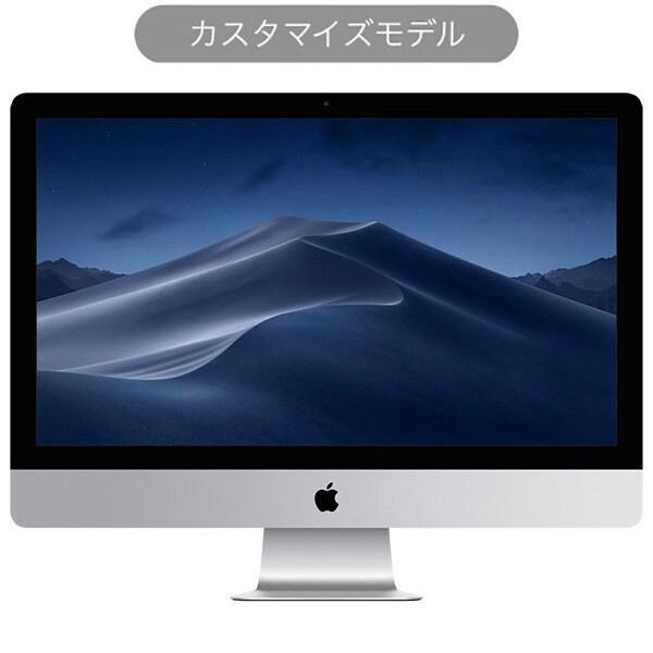 iMac 27インチ 5K 3.8GHz 8コア第10世代Intel Core i7プロセッサ メモリ32GB SSD512GB Magic Keyboard Magic Mouse2 カスタマイズモデル(CTO) [Z0ZX0026F]