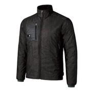 MEN'S ポリゴン2ULジャケット FIM0301 BK(ブラック) Mサイズ [アウトドア 中綿ウェア メンズ]