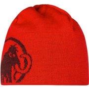マムートロゴビーニー Mammut Logo Beanie 1191-04891 3645 magma-merlot [スポーツウェアアクセサリ ビーニー]