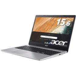 CB315-3H-A14N [Chromebook 315 15.6型/Celeron N4020/メモリ 4GB/eMMC 32GB/ドライブレス/Google Chrome OS/ピュアシルバー]