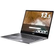 CP713-2W-A38P/E [Chromebook Spin 713 13.5型/Core i3-10110U/メモリ 8GB/eMMC 64GB/ドライブレス/Google Chrome OS/スティールグレイ]