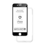 iFace Round Edge Tempered Glass Screen Protector ラウンドエッジ強化ガラス 画面保護シート iPhone SE(第2世代)/iPhone 8/iPhone 7/iPhone 6 用 ブラック