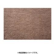 FLa2076220 [防炎・防ダニ・抗菌カーペット(シャンテ) ブラウン 2畳]