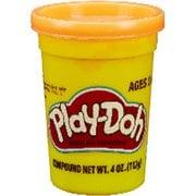 B6756 Play-Doh(プレイ・ドー) ねんど シングル缶 オレンジ [対象年齢:2歳~]