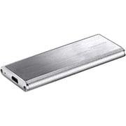 GH-M2NVU3A-SV [M.2 NVMe to USB3.1 Gen.2 アルミケース シルバー]