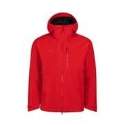アヤコプロエイチエスフーデットジャケットメン Ayako Pro HS Hooded Jacket AF Men 1010-27550 3465 magma Sサイズ [アウトドア ジャケット メンズ]