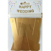 アルファベットガーランド HAPPY WEDDING