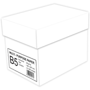 MULTI PURPOSE PAPER B5 2500枚 [コピー用紙 B5サイズ 500枚×5冊入り]