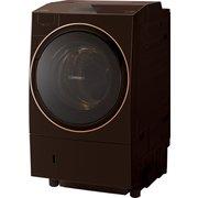 TW-127X9L(T) [ドラム式洗濯乾燥機 ZABOON ウルトラファインバブルW搭載 洗濯12.0kg/乾燥7kg 左開き 除菌機能 グレインブラウン]