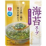 リケン 海苔スープ 4袋入 22g