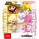 amiibo(アミーボ) ダブルセット <ネコマリオ/ネコピーチ>(スーパーマリオシリーズ) [ゲーム連動キャラクターフィギュア]