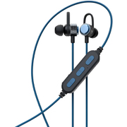 OWL-BTEP06S-BL [ワイヤレスステレオイヤホン Bluetooth5 防水 マグネット付 ブルー]