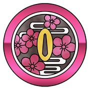 アルミボタンシール 指紋認証対応 鬼滅の刃 栗花落カナヲ [キャラクターグッズ]