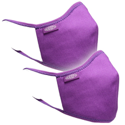 KEEN Together Mask M/Lサイズ (男性向けサイズ) PURPLE 洗えるマスク 2枚入り 1025385 [アウトドア マスク]