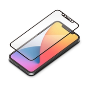 PG-20GGL03FBL [iPhone 12/iPhone 12 Pro 用 治具付き Dragontrail 液晶全面保護ガラス ブルーライトカット/光沢]