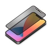 PG-20GGL05FMB [iPhone 12/iPhone 12 Pro 用 治具付き Dragontrail 液晶全面保護ガラス 覗き見防止]