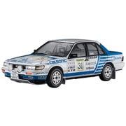 20470 ニッサン ブルーバード 4ドアセダン SSS-R U12型 1988年 全日本ラリー [1/24スケール プラモデル]