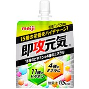 即攻元気ゼリー凝縮栄養 柑橘ミックス150g×6 [栄養調整食品(清涼飲料水)]