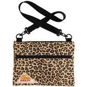 DESIGNPRINT FLAT POUCHS 2592427 Gold Leopard  [アウトドア系 ショルダー]