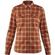 Fjallglim Stretch Shirt LS W 89901 Autumn Leaf XSサイズ [アウトドア シャツ レディース]