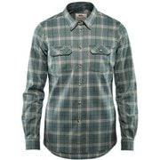 Fjallglim Stretch Shirt LS W 89901 Frost Green XSサイズ [アウトドア シャツ レディース]