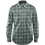 Fjallglim Stretch Shirt LS W 89901 Frost Green Sサイズ [アウトドア シャツ レディース]