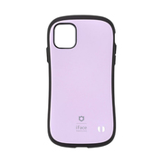 iFace First Class iPhone 11 用 ケース Cafe&Macarons シリーズ マカロン/パープル [iPhone用ケース]
