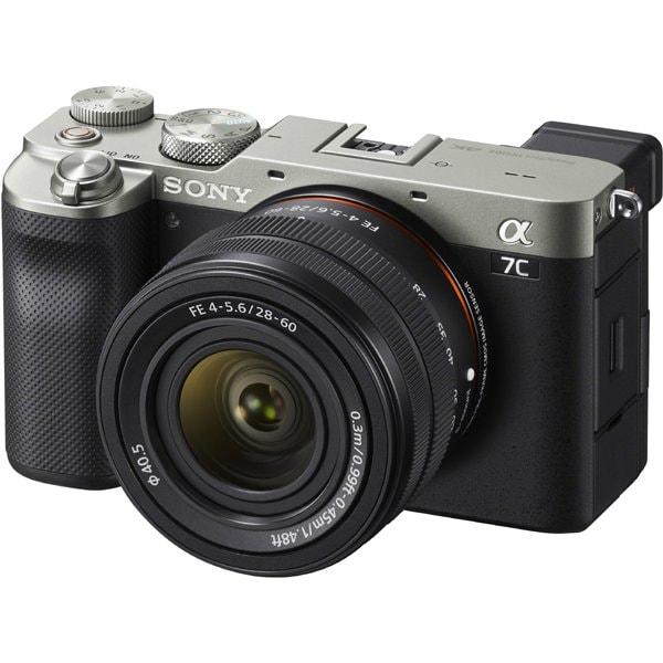 ILCE-7CL S [α7C(アルファ 7C) レンズキット ボディ+交換レンズ「FE 28-60mm F4-5.6」 シルバー]