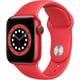 Apple Watch Series 6(GPSモデル)- 40mm (PRODUCT)REDアルミニウムケースと(PRODUCT)REDスポーツバンド [M00A3J/A]