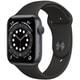Apple Watch Series 6(GPSモデル)- 44mmスペースグレイアルミニウムケースとブラックスポーツバンド [M00H3J/A]