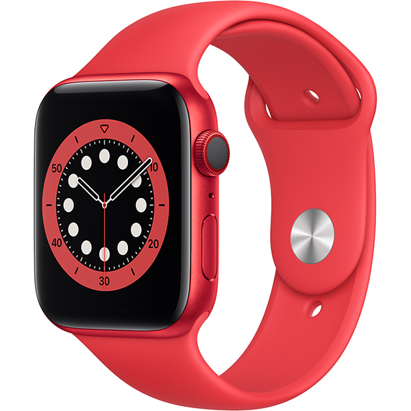 Apple Watch Series 6(GPS + Cellularモデル)- 44mm (PRODUCT)REDアルミニウムケースと(PRODUCT)REDスポーツバンド [M09C3J/A]