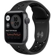 Apple Watch Nike Series 6(GPSモデル)- 40mmスペースグレイアルミニウムケースとアンスラサイト/ブラックNikeスポーツバンド [M00X3J/A]