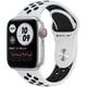 Apple Watch Nike Series 6(GPS + Cellularモデル)- 40mmシルバーアルミニウムケースとピュアプラチナム/ブラックNikeスポーツバンド [M07C3J/A]