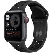Apple Watch Nike SE(GPS + Cellularモデル)- 40mmスペースグレイアルミニウムケースとアンスラサイト/ブラックNikeスポーツバンド [MG013J/A]