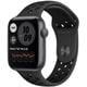 Apple Watch Nike SE(GPSモデル)- 44mmスペースグレイアルミニウムケースとアンスラサイト/ブラックNikeスポーツバンド [MYYK2J/A]