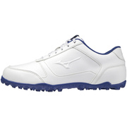 51GQ208522 [ゴルフシューズ ワイドスタイル ライト スパイクレス メンズ ホワイト×ブルー 26.0cm]