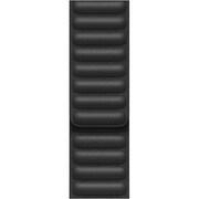 Apple Watch 44mmケース用 ブラックレザーリンク - M/L [MY9N2FE/A]